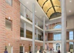UNT Science Building Interior Rendering