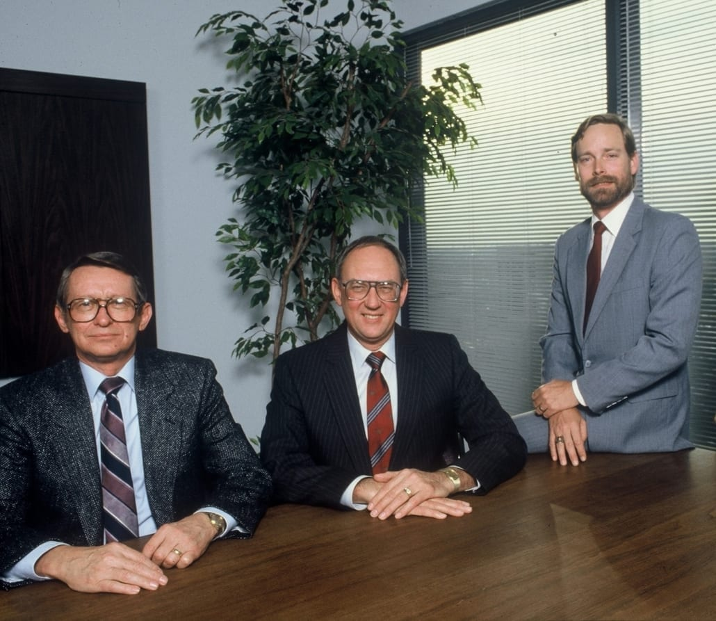 The Founders of Reed, Wells, Benson and Company