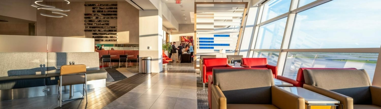 American Airlines Flaghship First Airport VIP Lounge DFW