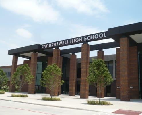 Braswell High School in Aubrey, TX - Exterior