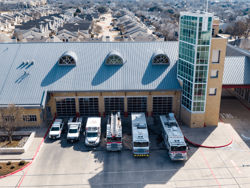 City of Frisco Central Fire Station