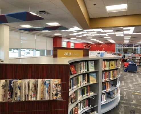 Shotwell LIbrary in Grand Prarie, TX