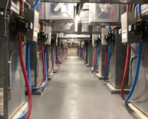 Marine Creek Middle School - Geothermal Water Source Heat Pumps