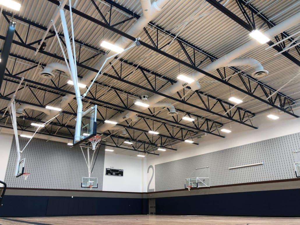 Marine Creek Middle School - Gymnasium