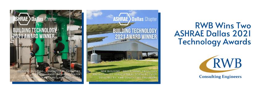 ASHRAE 2021 Building Technology Awards Award
