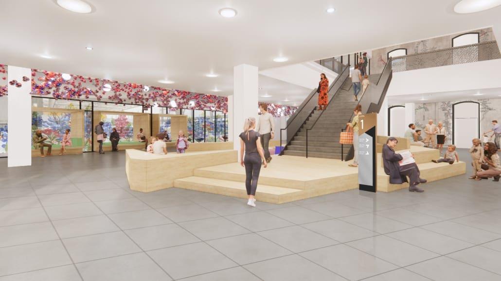 Frisco Public Library Lobby