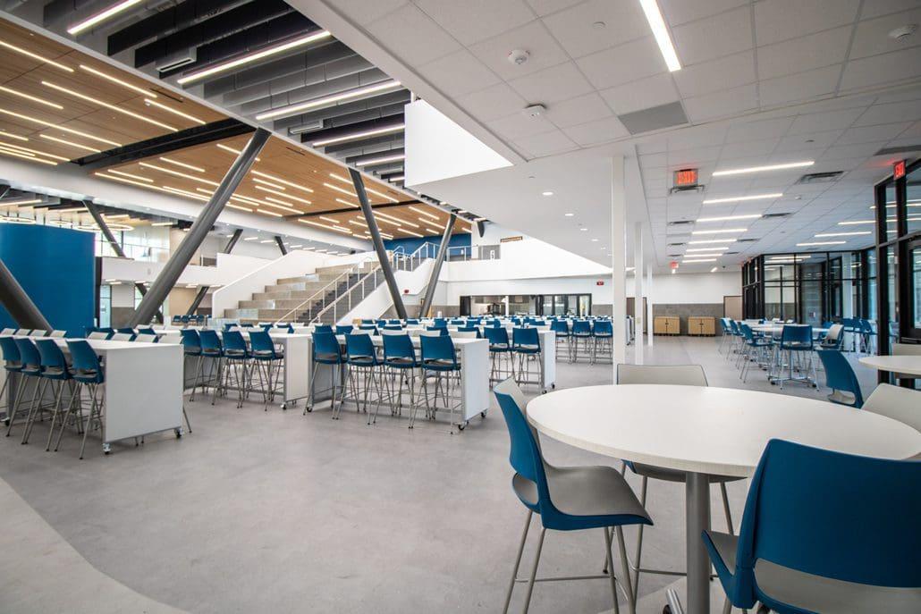 Vanguard Cafeteria View 2