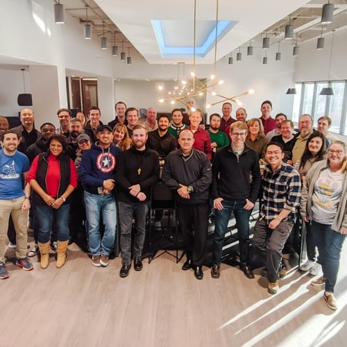RWB Team at Engineer's Week Celebration February 2020