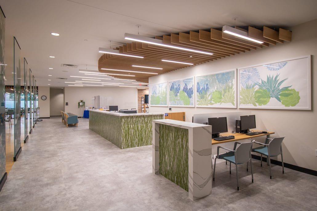 Richardson Senior Center Business corner